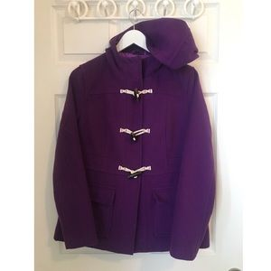 Purple Medium Peacoat